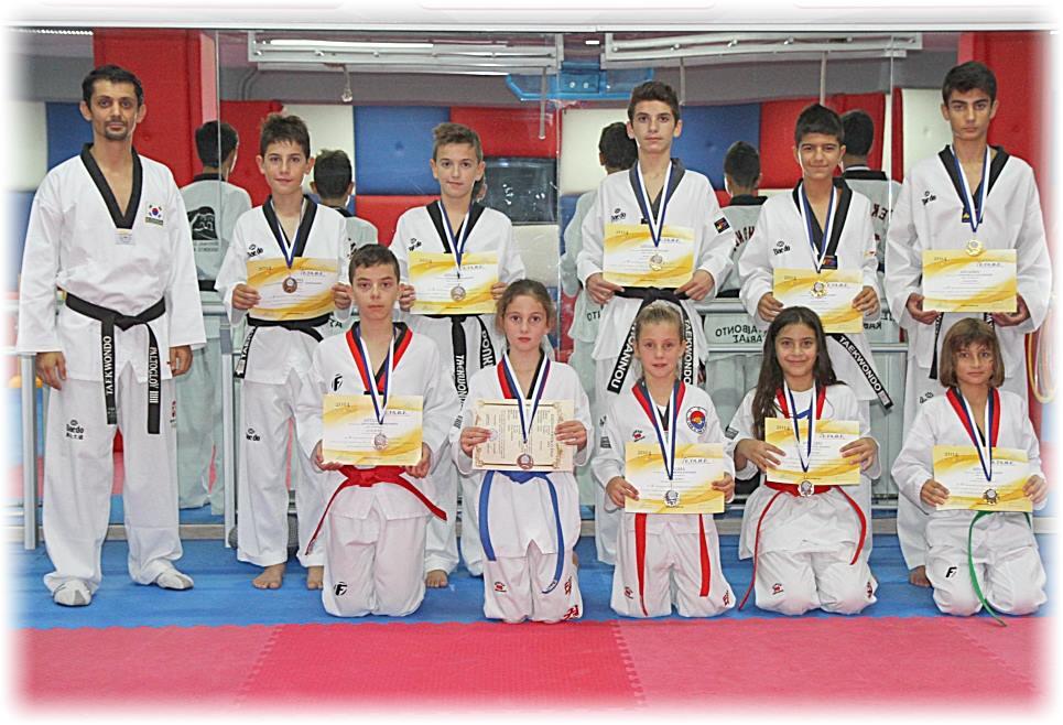 12 μετάλλια κατέκτησε ο ΑΣ ΤΑΕΚΒΟΝΤΟ Καβάλας στο  2ο προκριματικό πρωτάθλημα που έγινε στην Θεσσαλονίκη