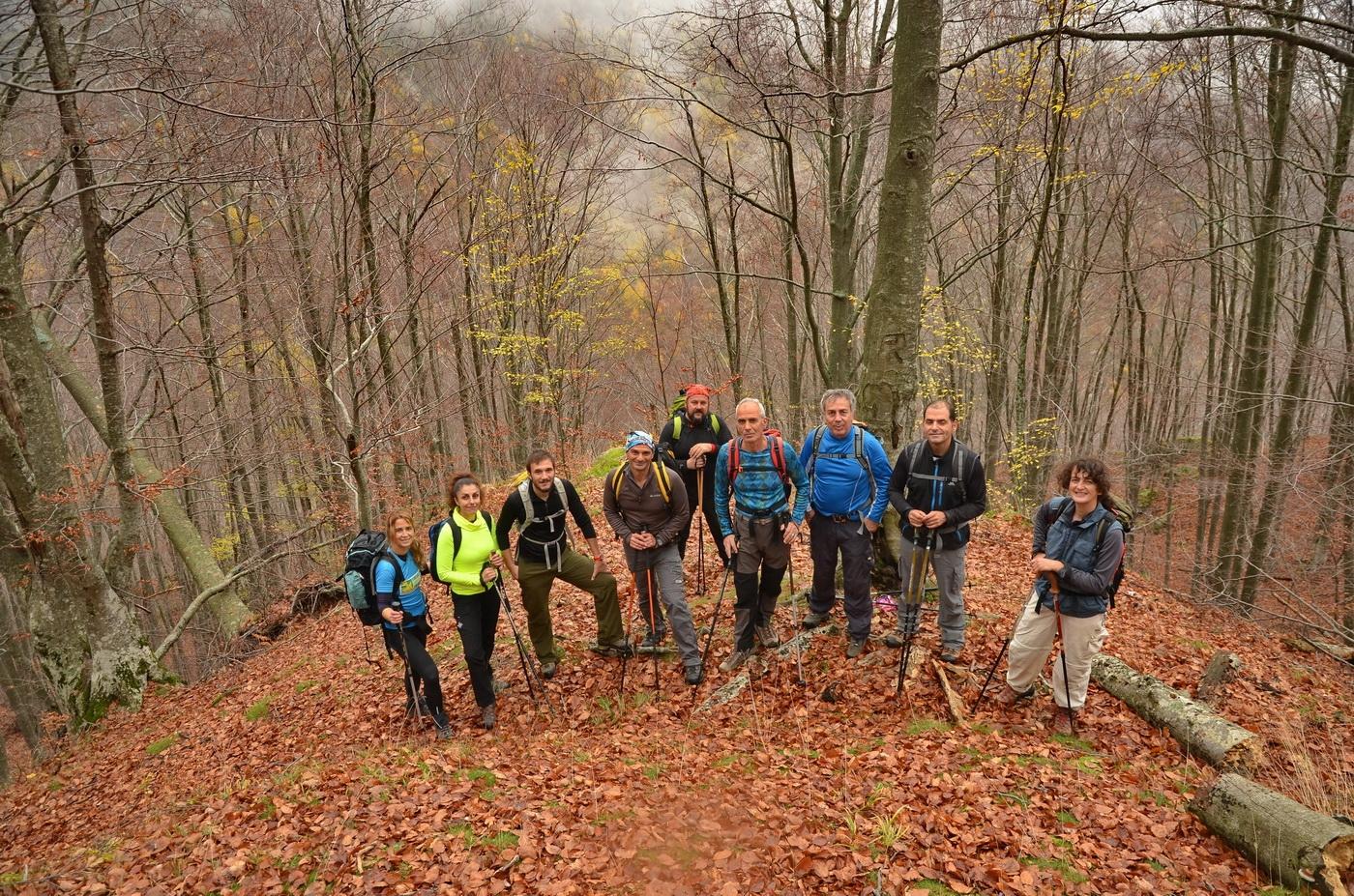 Διάσχιση Ροδόπης μήκους 18 χιλιομέτρων από το χωριό Δημάριο των μελών του Ελληνικού Ορειβατικού Συλλόγου Καβάλας