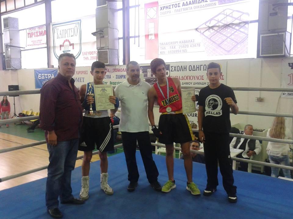 Πολύτιμες εμπειρίες αποκόμισαν οι τρεις αθλητές του Α.Ο. Ορμή που συμμετείχαν στο 6ο γκαλά πυγμαχίας που πραγματοποιήθηκε στην Πάτρα