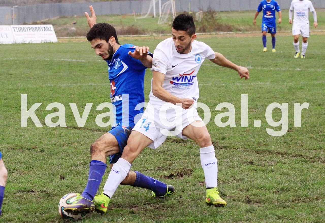 Ματσάρα έγινε σήμερα Κυριακή (16/11) στο Δημοτικό Στάδιο της Ελευθερούπολης μεταξύ του τοπικού Ορφέα και του Α.Ο.Κ. και τελικά οι δύο ομάδες ολοκλήρωσαν τις αγωνιστικές τους με το ισόπαλο σκορ (1-1)
