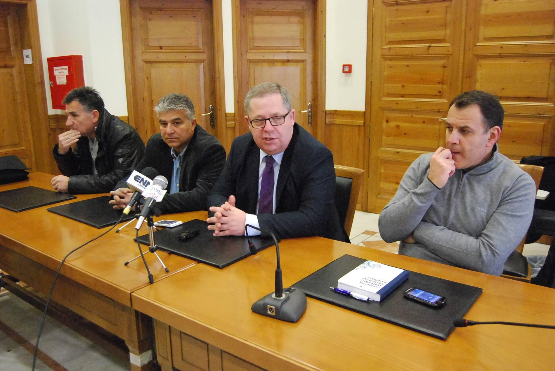 Μικρή σχετκά ήταν η ανταπόκριση στην σύσκεψη που πραγματοποιήθηκε για τον Α.Ο.Κ. με πρωτοβουλία του Αντιπεριφερειάρχη Καβάλας Θεόδωρου Μαρκόπουλου