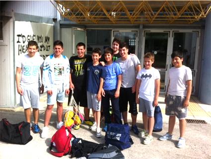 Μεγάλη πρόκριση για την Ημιτελική Φάση του Πανελλήνιου Πρωταθλήματος mini Παίδων σημείωσε η ομάδα Υδατοσφαίρισης του Ν.Ο. Καβάλας