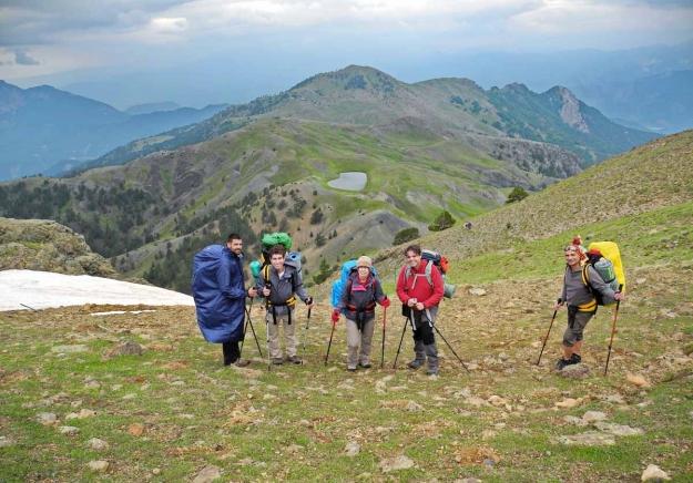 Με επιτυχία τα μέλη του Ελληνικού Ορειβατικού Συλλόγου Καβάλας διέσχισαν τον Σμόλικα το τριήμερο 27-29 Ιουνίου