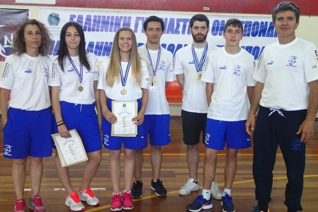 Στο test της Εθνικής ομάδας ενόργανης γυμναστικής συμμετείχε ο Γ.Ο. Καβάλας με τον αθλητή Νίκο Σαββίδη