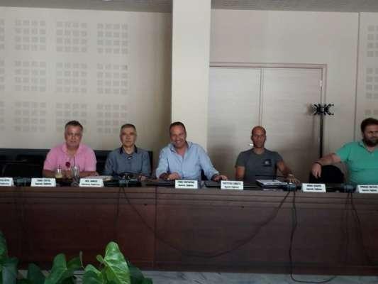 Το γηπεδικό θέμα στη συνάντηση της Ε.Π.Σ. Καβάλας με τη διοίκηση του Δήμου Παγγαίου