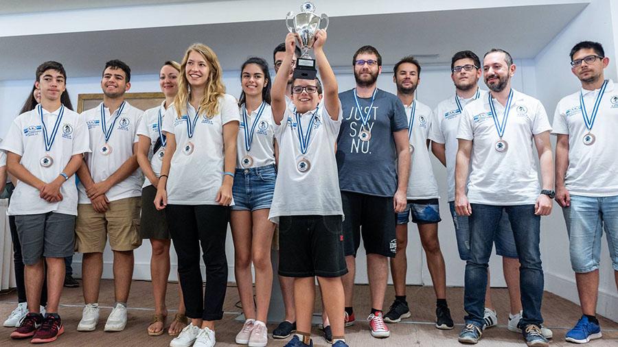 3η θέση για τον ΣΟ Καβάλας στο 46ο Πανελλήνιο Ομαδικό Πρωτάθλημα Α' Εθνικής στο σκάκι