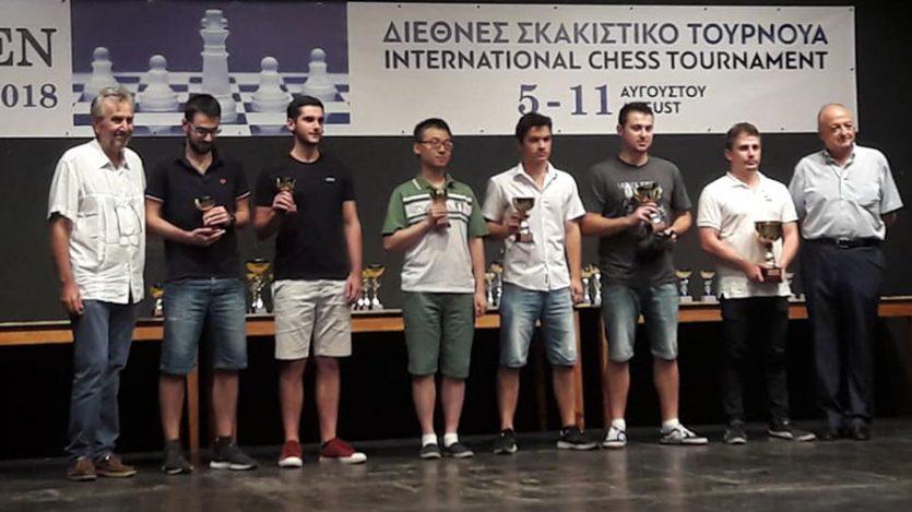 Ο Τσέχος σκακιστής Plat ήταν ο νικητής στο 27ο Διεθνές Τουρνουά της Καβάλας