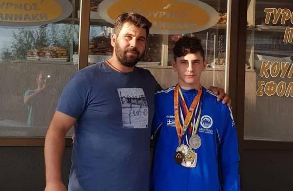 Αργυρό μετάλλιο από τον Γ. Μαρτίδη στους Βαλκανικούς αγώνες του Σαράγεβο
