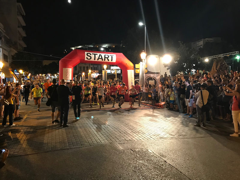 Νέο ρεκόρ με 1300 συμμετοχές στο φετινό 5ο Νight City Run