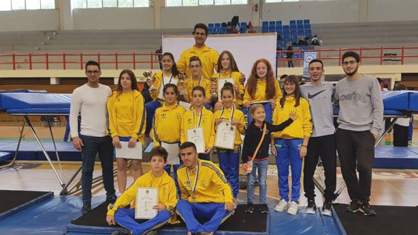 Α.Ο. Παλμός : Τρείς διακρίσεις στο κύπελλο :Τραμπολίνο στον Πολύγυρο Χαλκιδικής