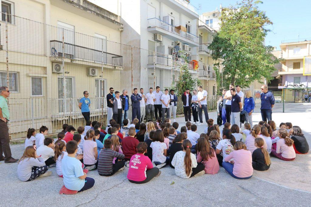 Επίσκεψη στο 2ο Δημοτικό Σχολείο Καβάλας από αντιπροσωπεία της ENERGIAN KAVALA BC