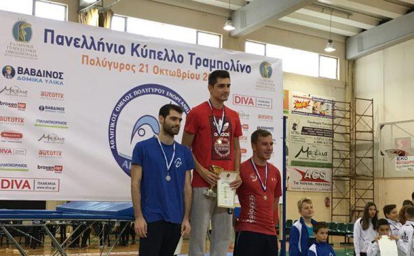 2η θέση για τον ΓΟ Καβάλας στο Πανελλήνιο Κύπελλο Τραμπολίνο
