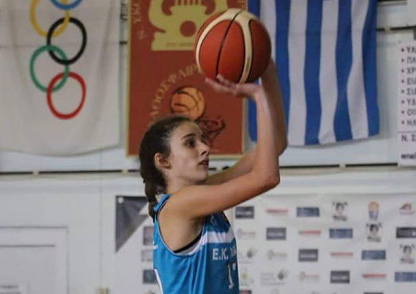 Η Σοφία Κελεμένη στο ΕΟΚ FIBA CAMP παγκορασίδων U14