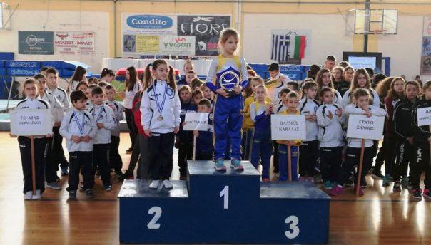Τα «Αστέρια» του Παλμού Καβάλας έλαμψαν στο «6ο Κύπελλο Τραμπολίνο» της Περαίας Θεσσαλονίκης