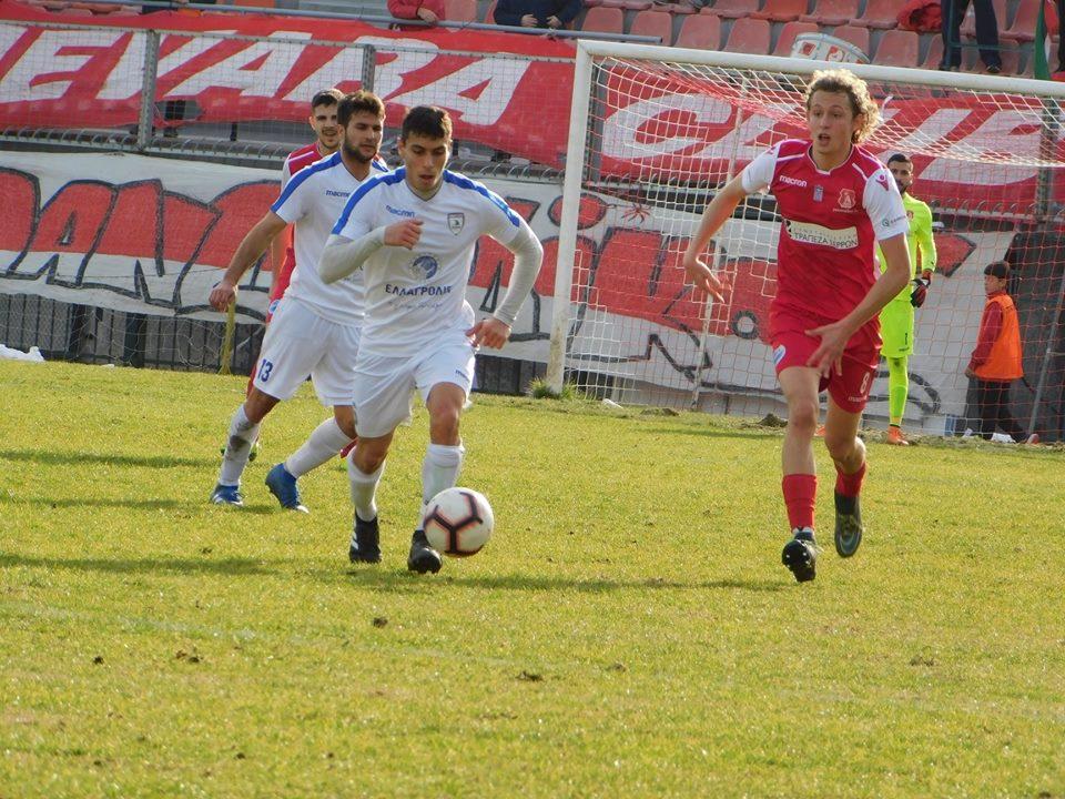 Στο -4 ο Α.Ο.Κ. από την κορυφή μετά την άδικη, ανέλπιστη και οδυνηρή ήττα στις Σέρρες με (1-0)