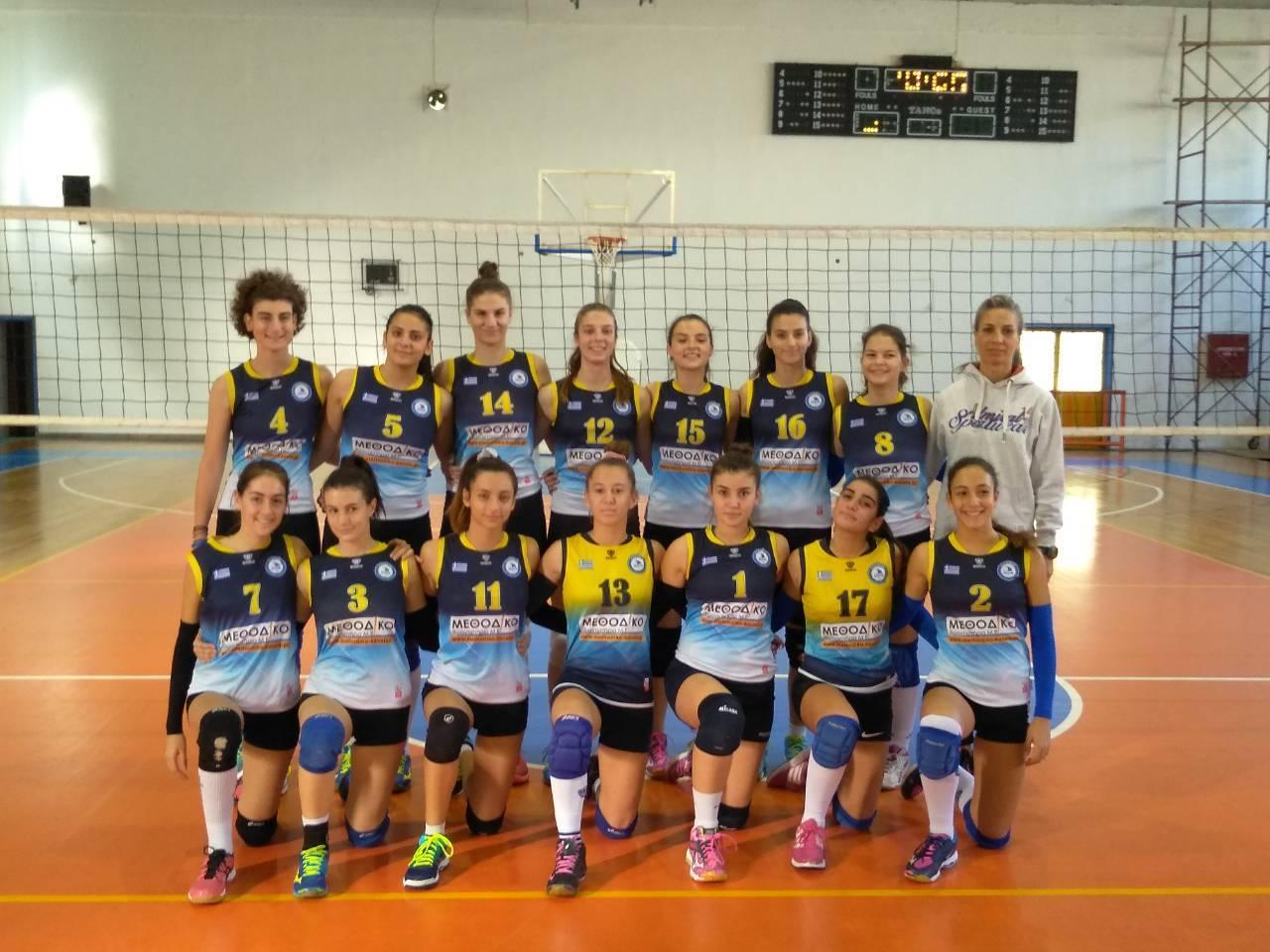 Οι κορασίδες του Α.Ο Καβάλα κατέκτησαν την 3η θέση στο Final-4 της Αλεξανδρούπολης