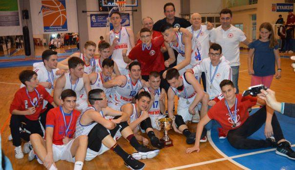 Ο Αστέρα Καβάλας πανάξια κατέκτησε το πρωτάθλημα Παίδων της ΕΚΑΣΑΜΑΘ