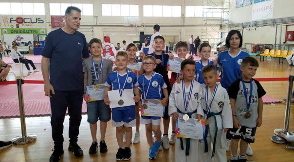 Διακρίσεις των αθλητών του ΑΣ ΤΑΕΚΒΟΝΤΟ Χρυσούπολης στο 2st Kids Festival της Θεσσαλονίκης