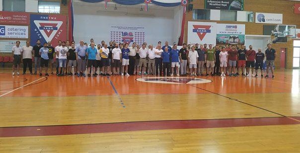 Σε σεμινάριο προπονητικής μπάσκετ της ΧΑΝΘ έλαβε μέρος ο Κώστας Λογοθέτης του ΓΣ Ελευθερούπολης