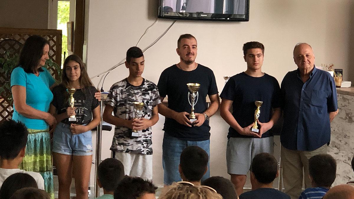 Με επιτυχία έγινε το 18ο Τουρνουά Rapid στη μνήμη του σκακιστή Λάζαρου Χατζηπαντελή