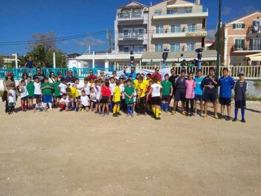 Με μεγάλη επιτυχία πραγματοποιήθηκε στα Λιμενάρια Θάσου η εκδήλωση UEFA Grassroots
