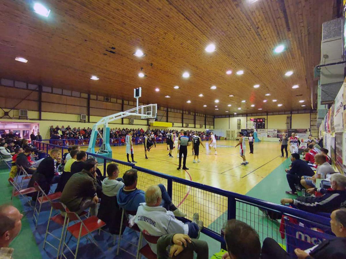 Σπουδαία νίκη του ΓΣ Ελευθερούπολης στο εξ αναβολής  παιχνίδι επί του Οιάξ Ναυπλίου με 83-77