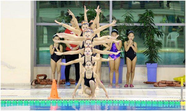 Πετυχημένη η παρουσία της Καλλιτεχνικής Κολύμβησης του Ο.Θ.Α. Καβάλας στην Ημερίδα Ορίων των Σερρών