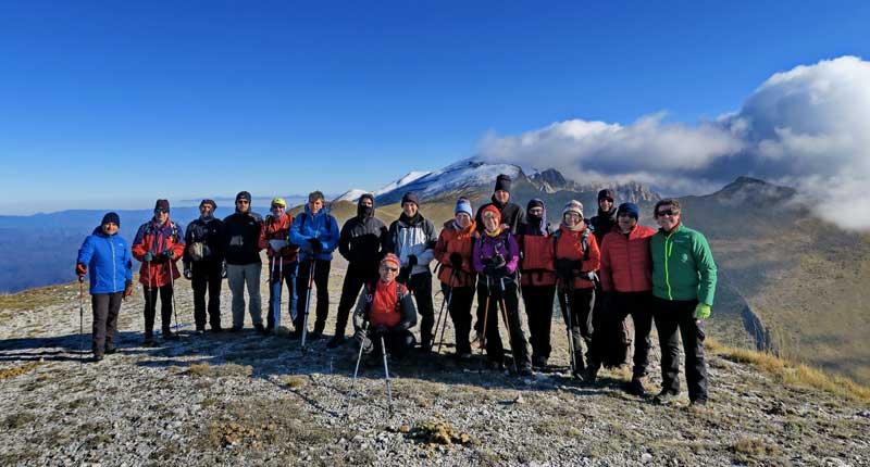 Με επιτυχία έγινε η εξόρμηση του Ελληνικού Ορειβατικού Συλλόγου Καβάλας στο Φαλακρό